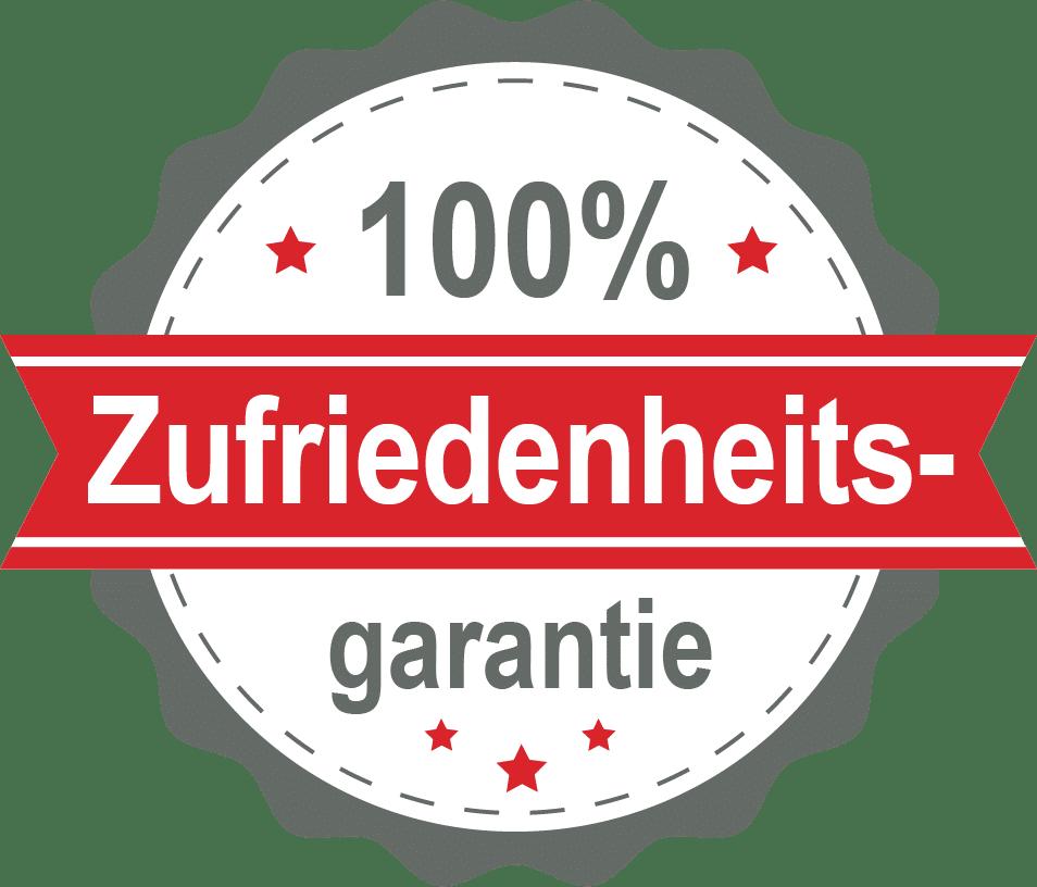 trust badge zufriedenheitsgarantie pirenjo.it