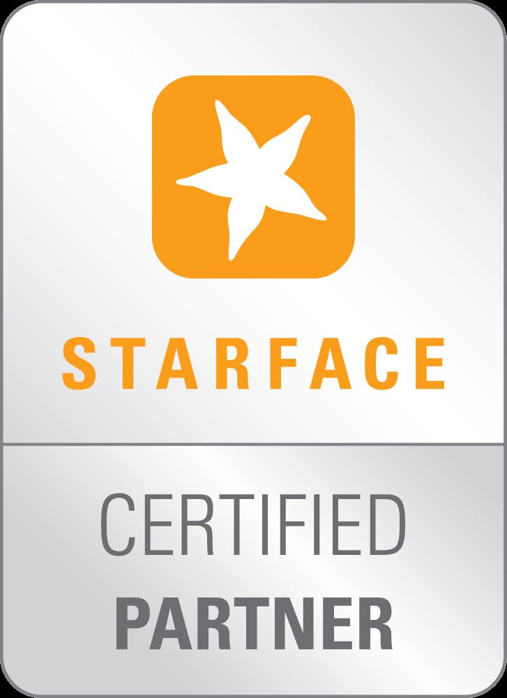 STARFACE Certified Partner Logo